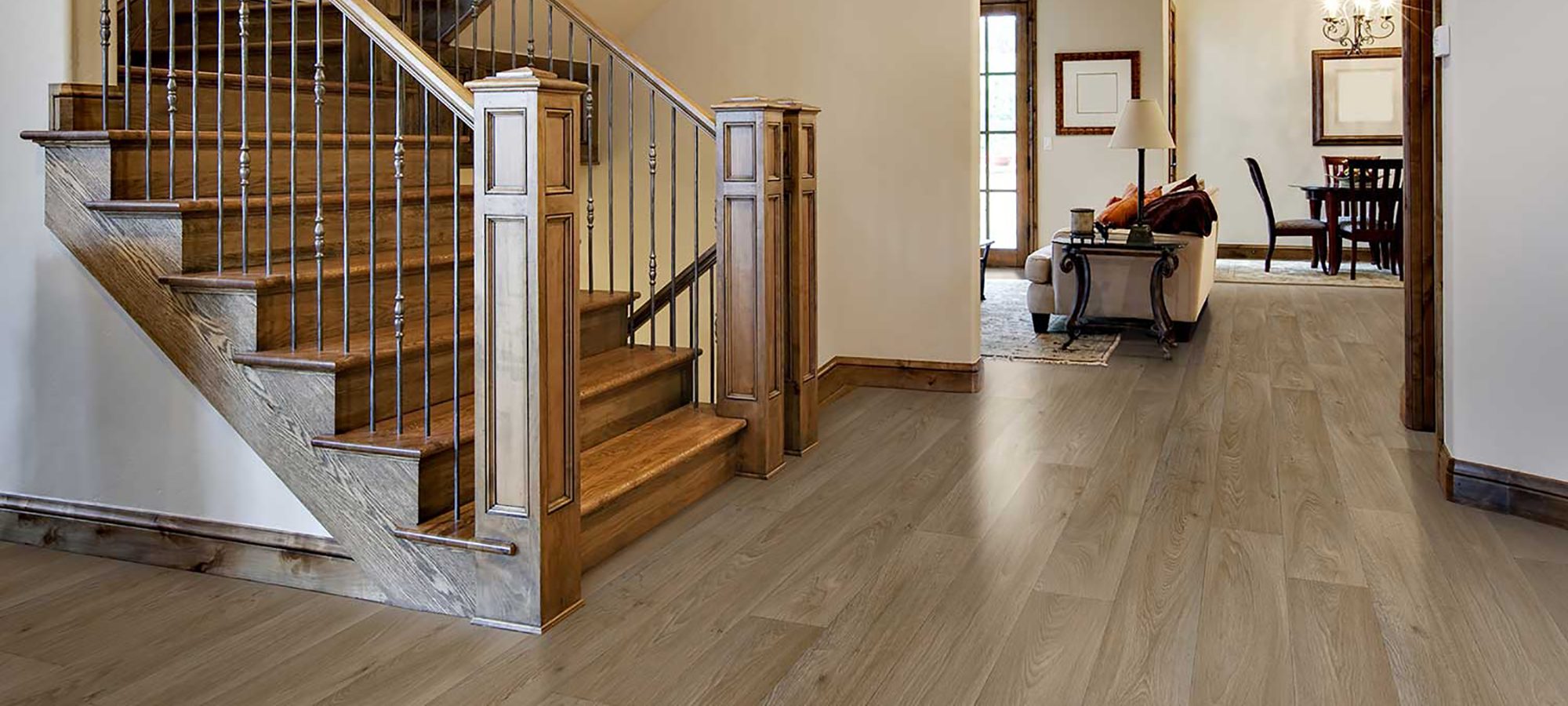 Vinyl is an excellent resilient, versatile and affordable flooring options for your home; serving the Portland, Oregon Metro area.